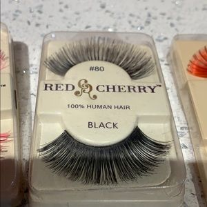 Eyelash Bundle - Red Cherry. Da Vinci. Ardell